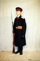 кадет старший роты 3 го Московского императора Александра II кадетского корпуса(в шинели2)